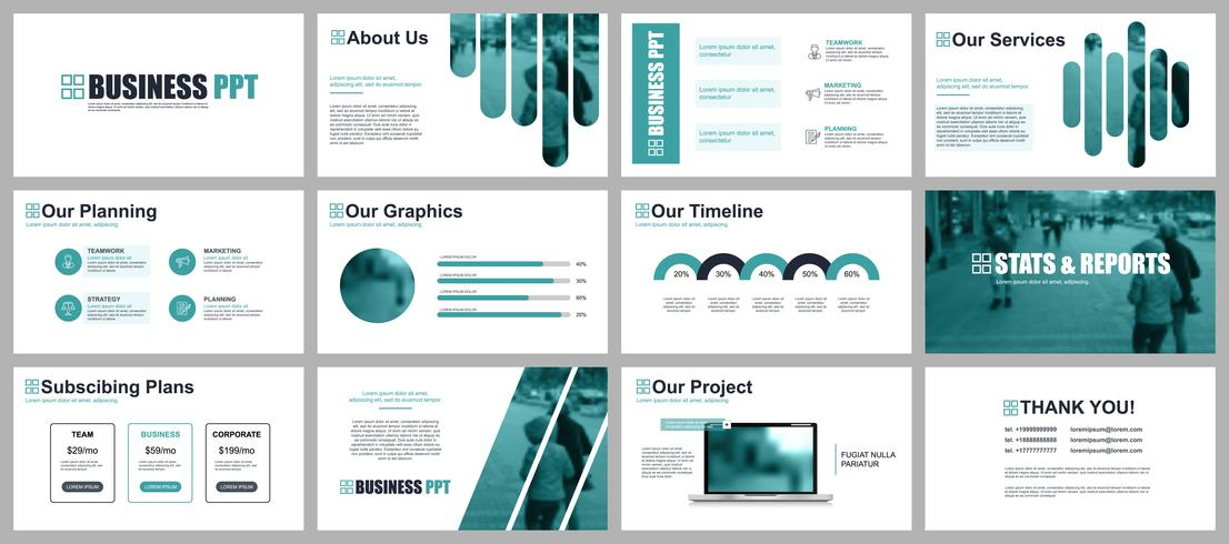 Powerpoint Slides Templates Business