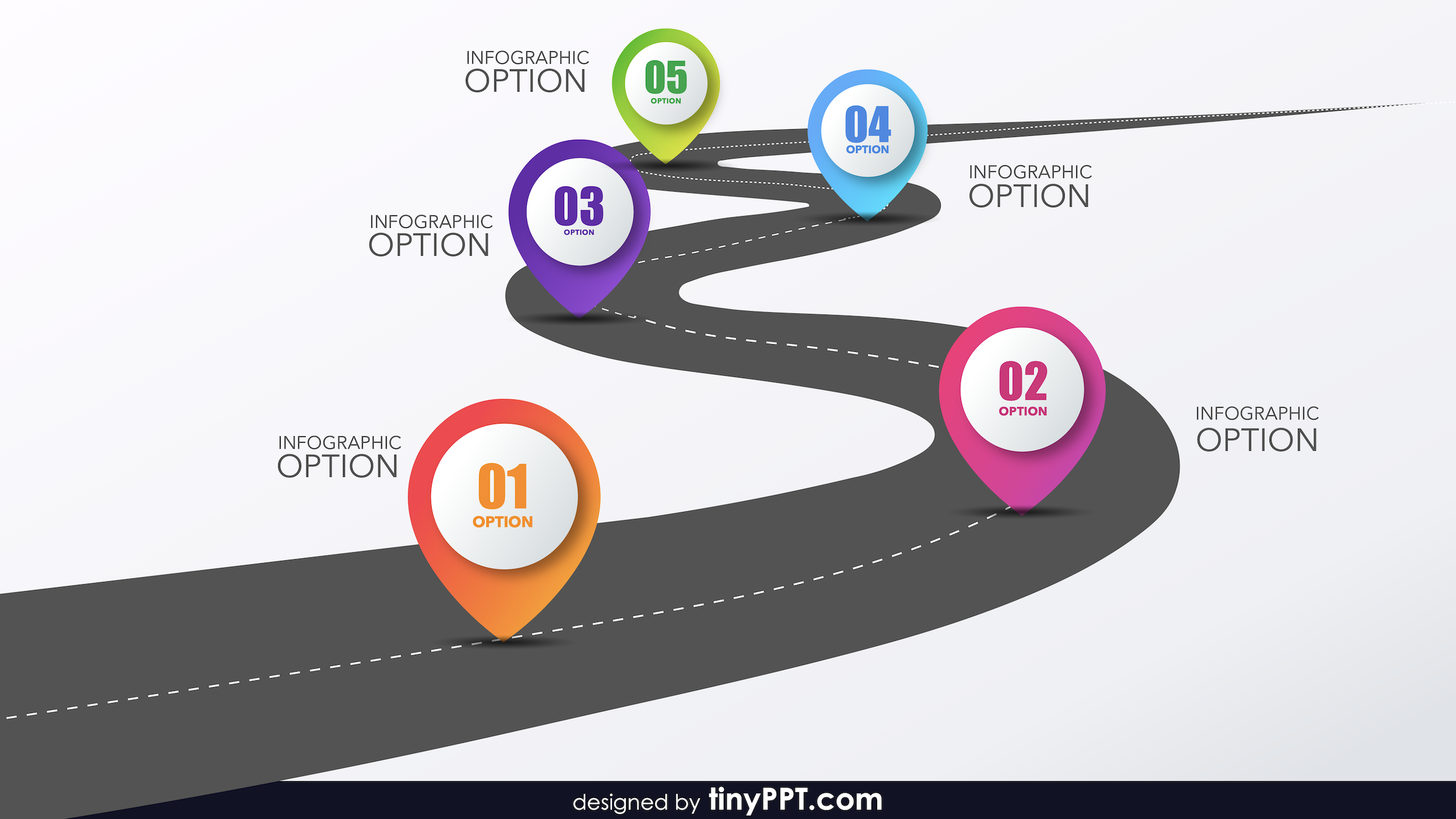 Ppt Template Roadmap Powerpoint Template Free