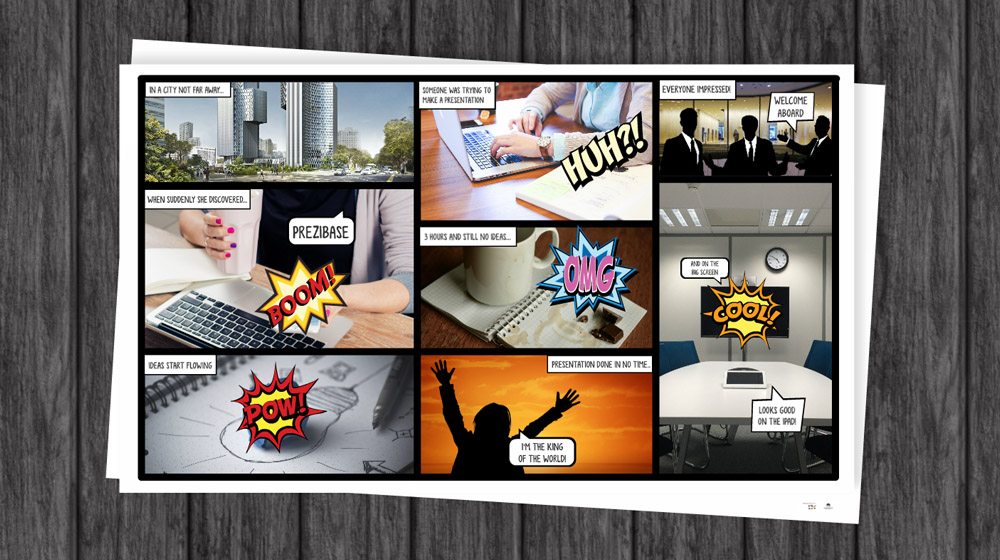 Prezi Style Powerpoint Template Free Download