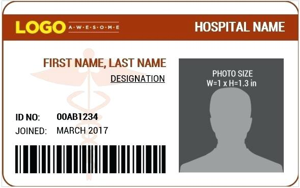 Printable Doctor Name Badge Template