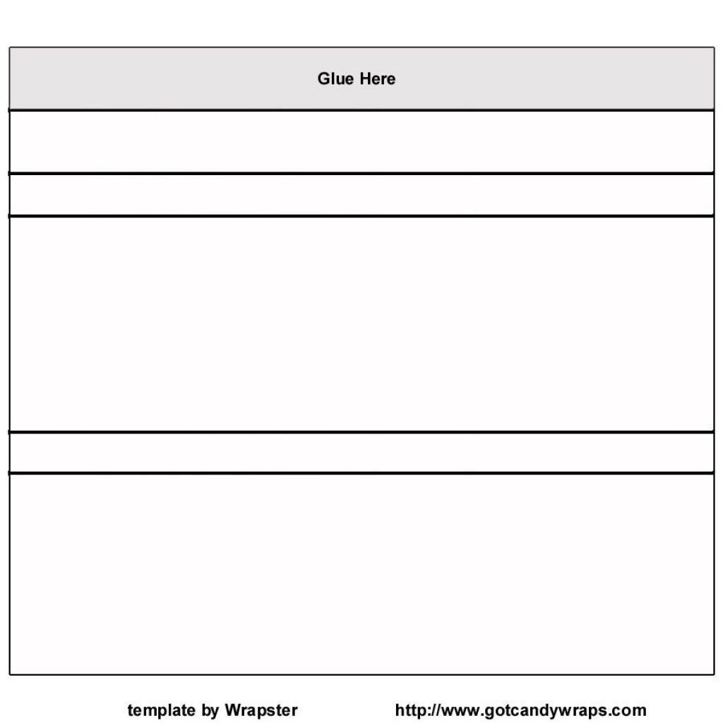 Printable Hershey Wrapper Template