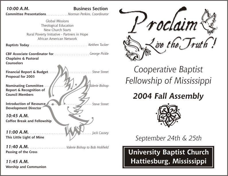 Printable Pastor Anniversary Program Template