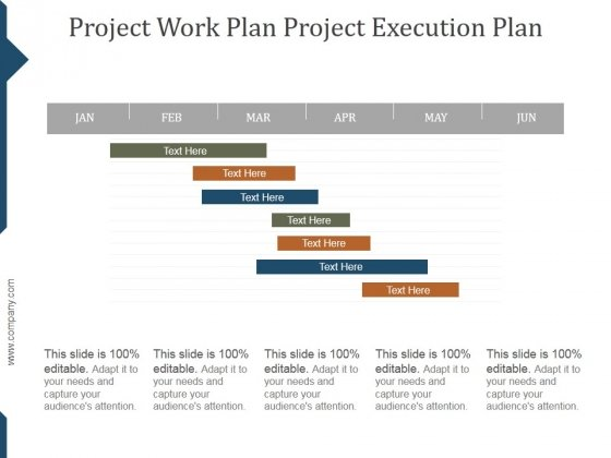 Project Execution Plan Template Ppt