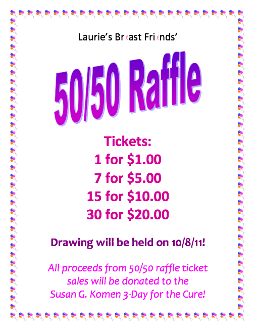 Raffle Flyer Template Word Free