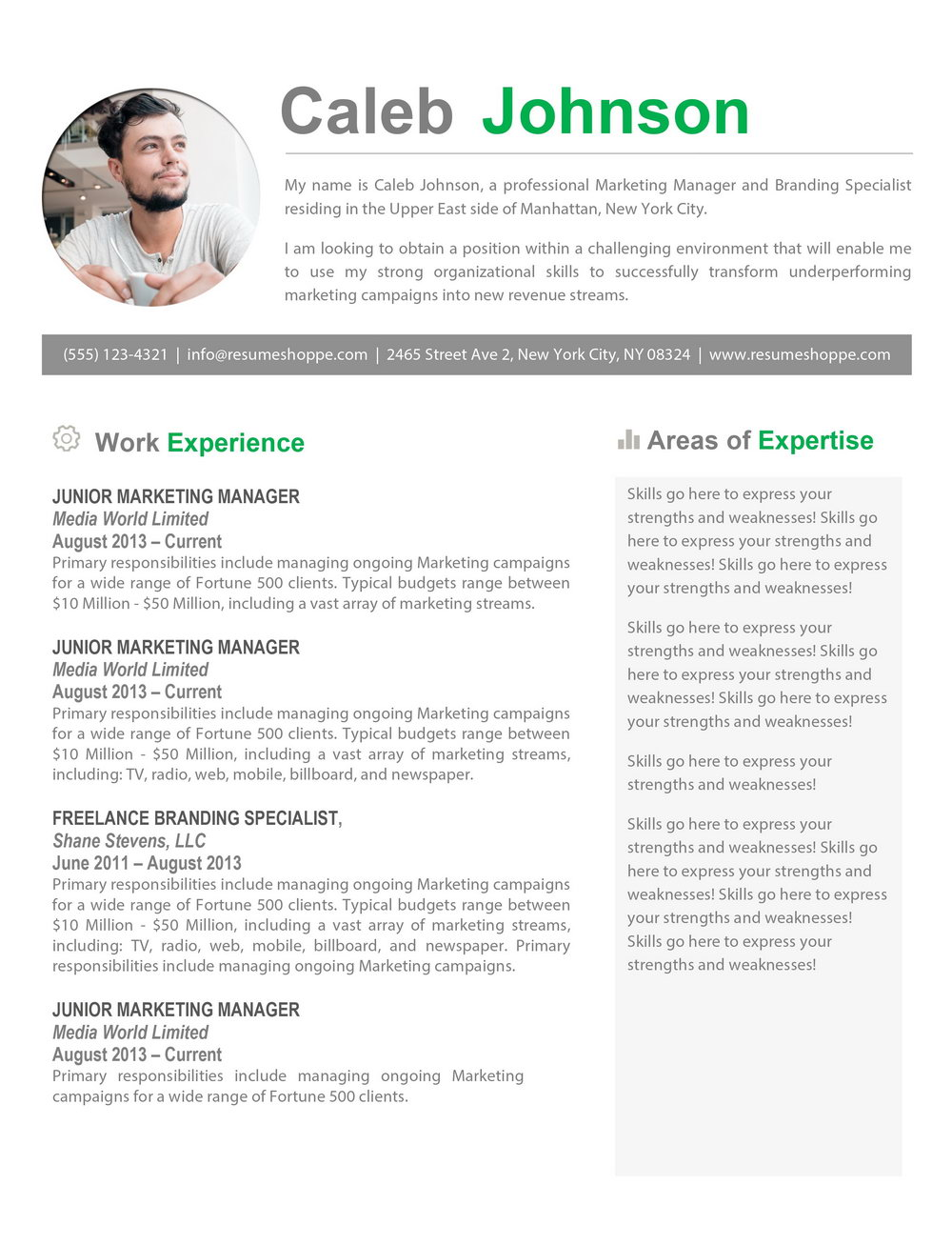 Resume Templates Macbook Pro
