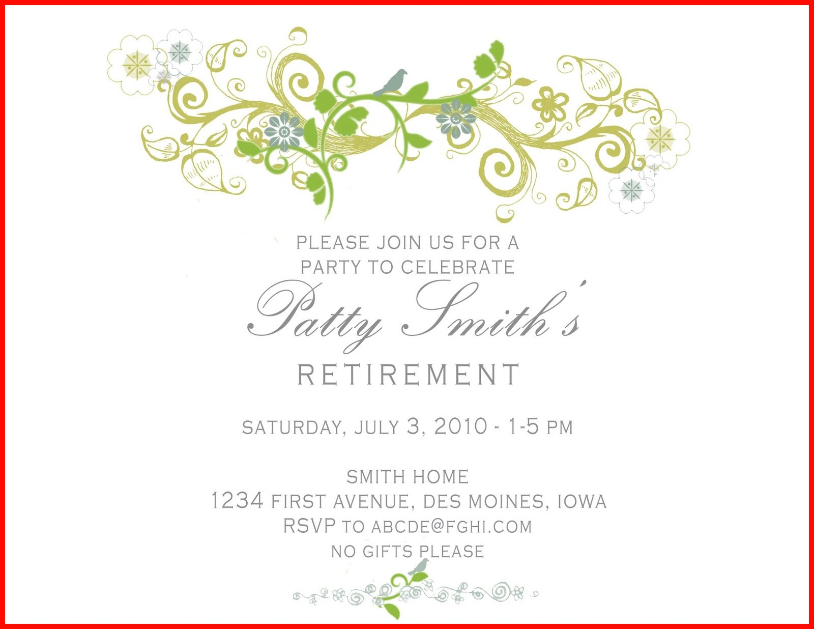 Retirement Celebration Invitation Template 113457 Retirement Party Invitation Wording For Teachers Elegant