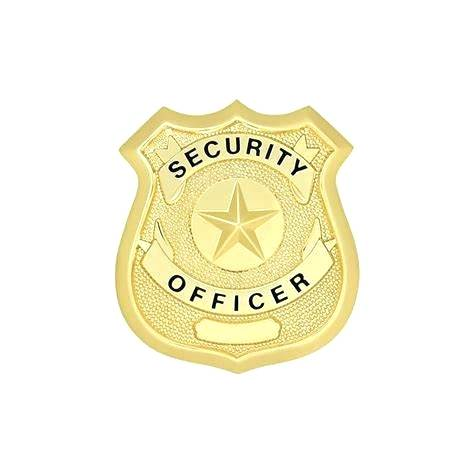 Security Officer Badge Template