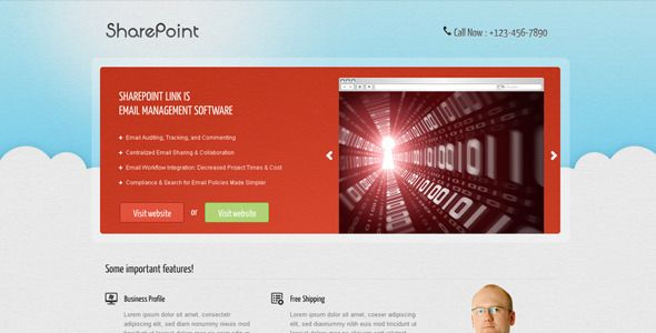 Sharepoint Landing Page Templates