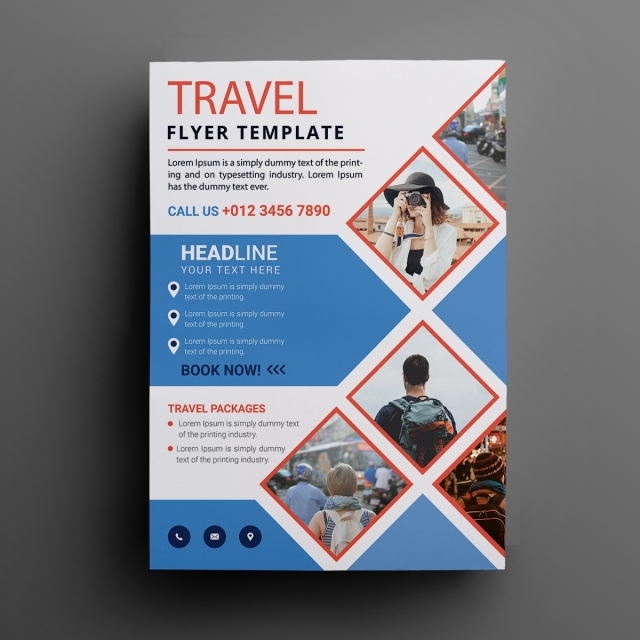 Template For Flyers Free Download