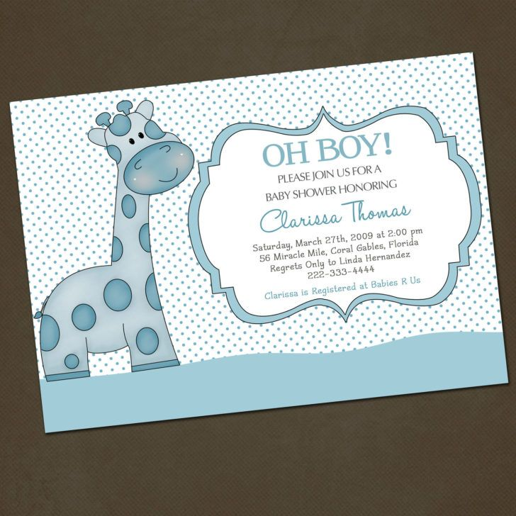 Template Funny Baby Shower Invitation Wording