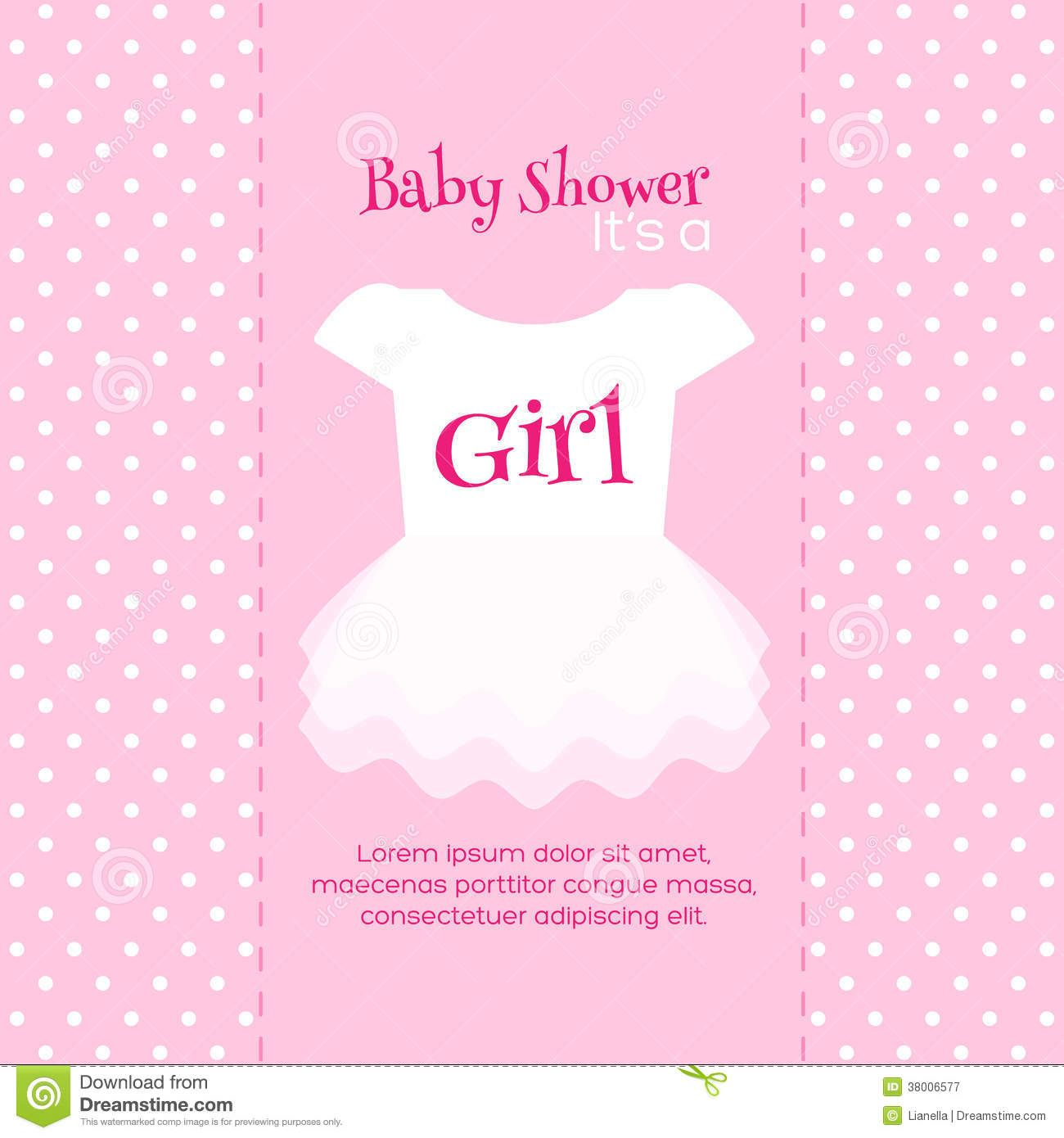 Templates For Baby Shower Invitations