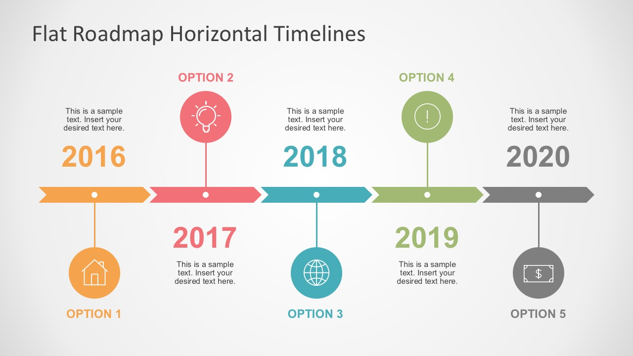 Timeline Roadmap Powerpoint Template Free