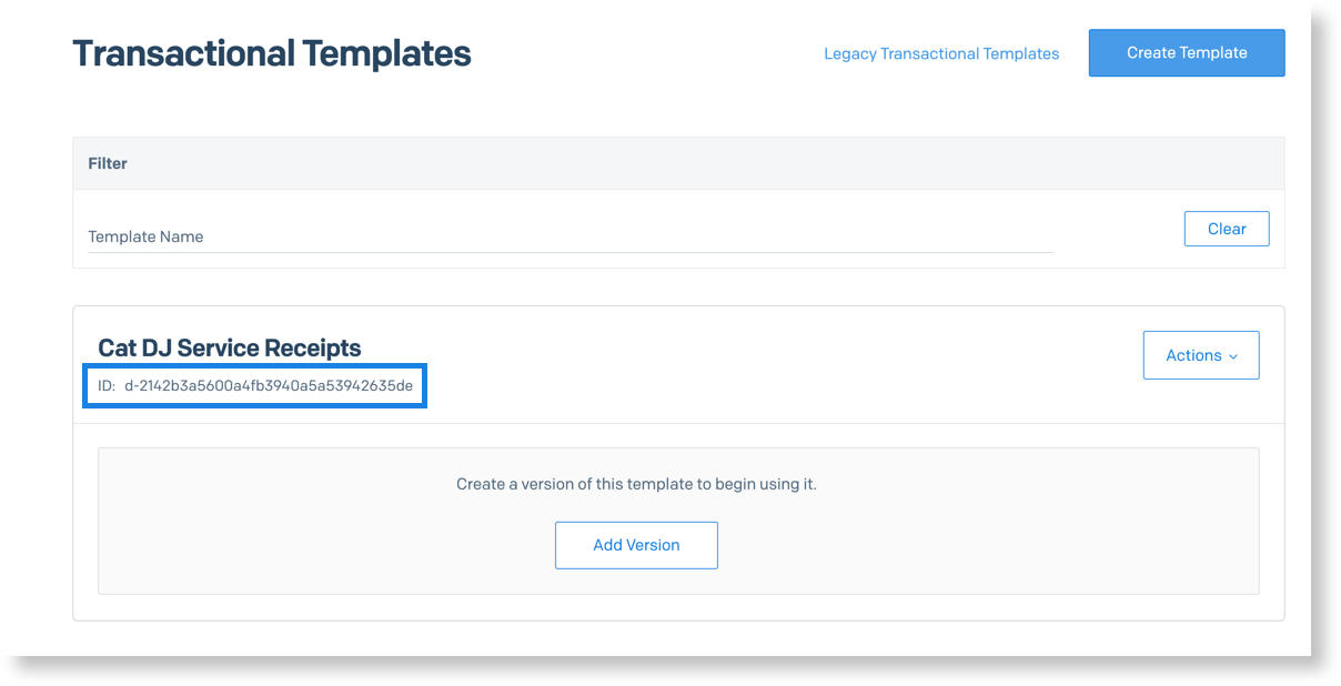 Transactional Email Templates Sendgrid