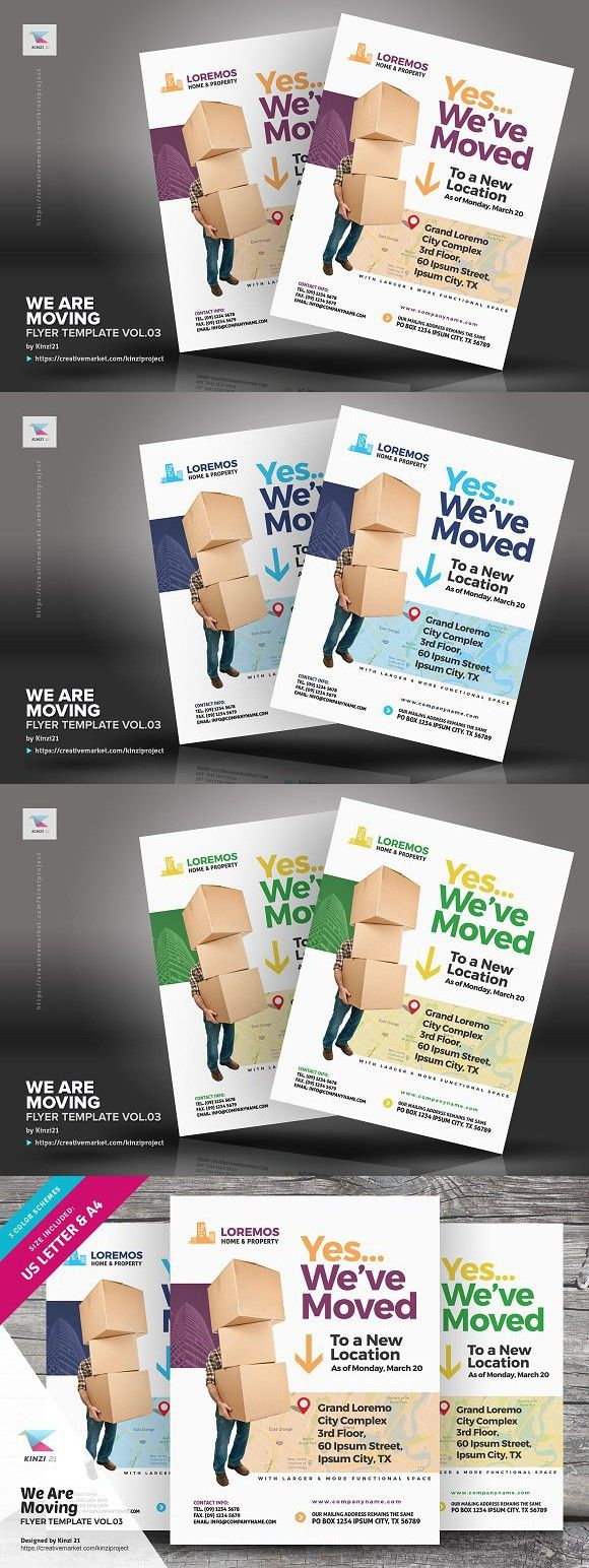 We Are Moving Announcement Template