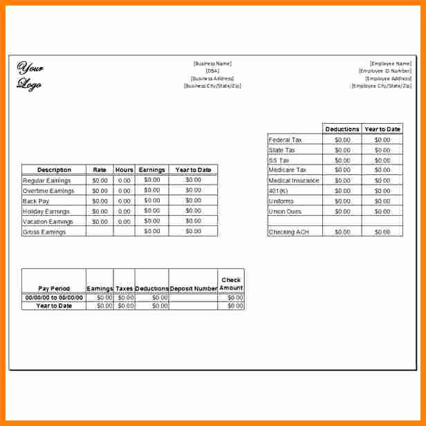 1099 Employee 1099 Pay Stub Template Pdf