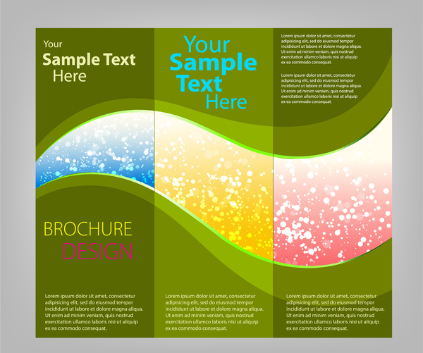 Adobe Illustrator Brochure Templates
