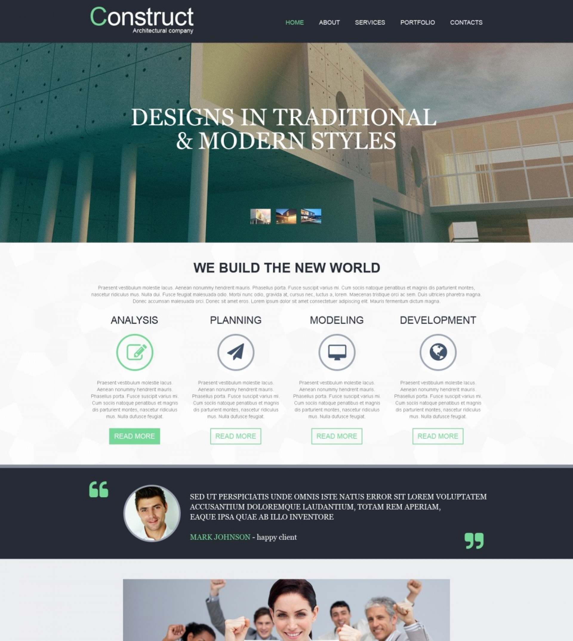 Adobe Muse Website Templates Free