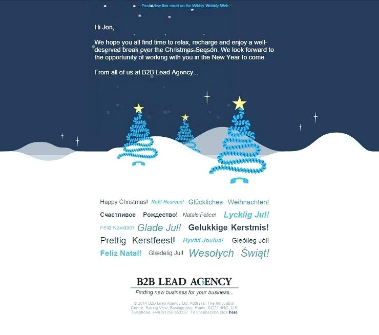 Animated Christmas Email Signature Templates Free