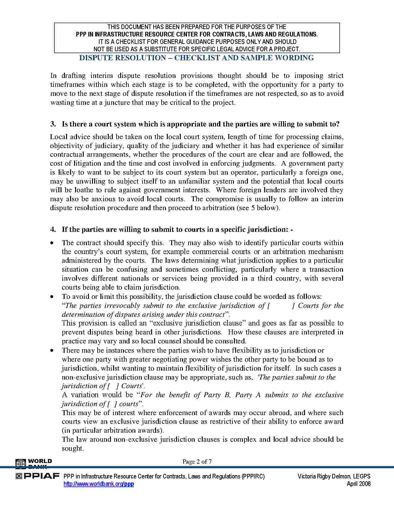 Arbitration Agreement Template Free