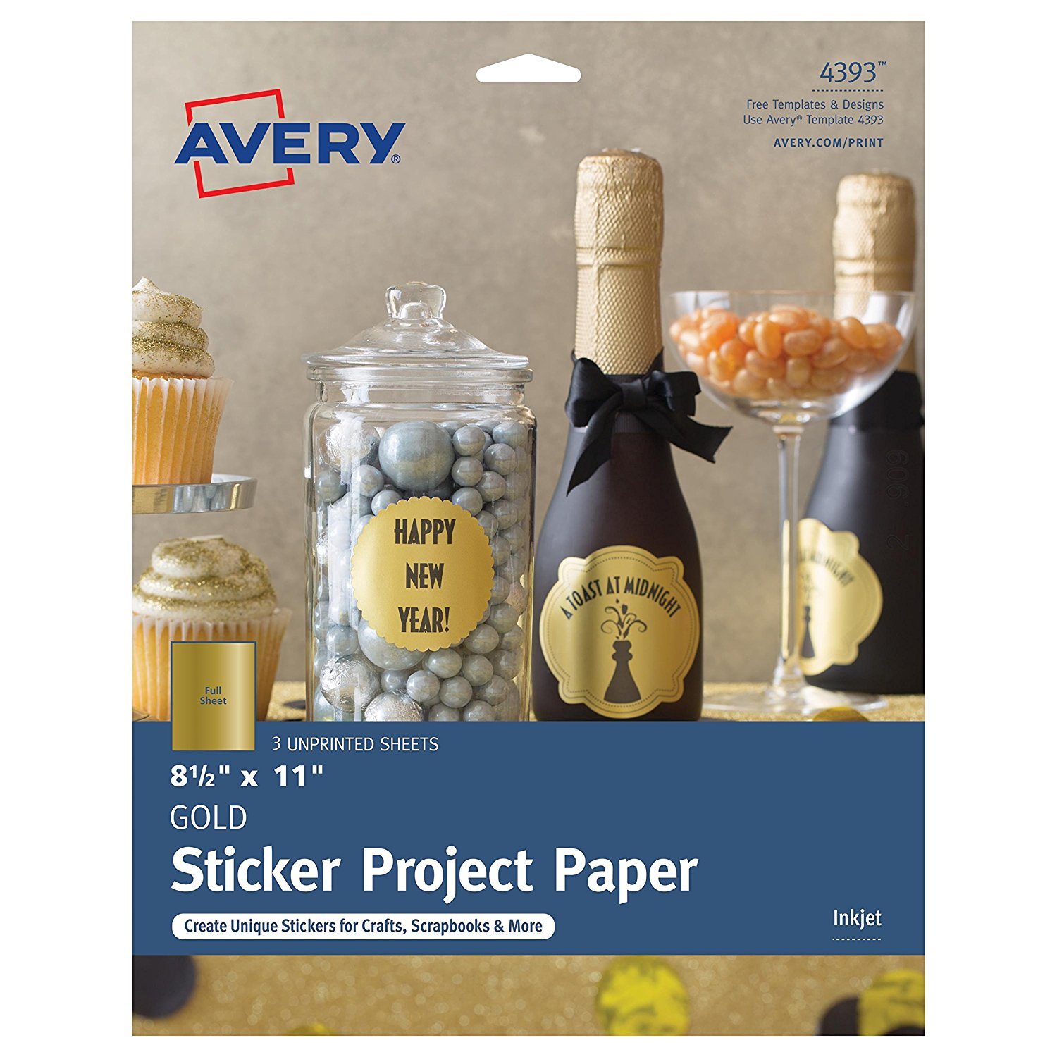 Avery Sticker Templates