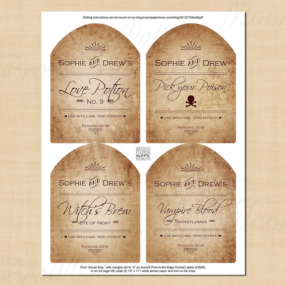 Avery Wine Label Templates Free
