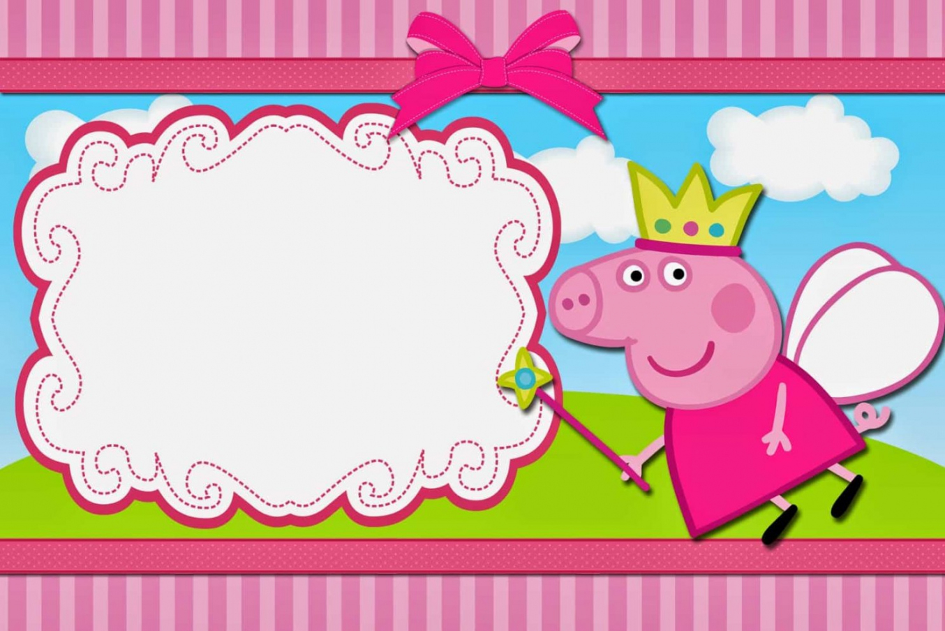 New Tips Of Peppa Pig Invitation Template New Hd