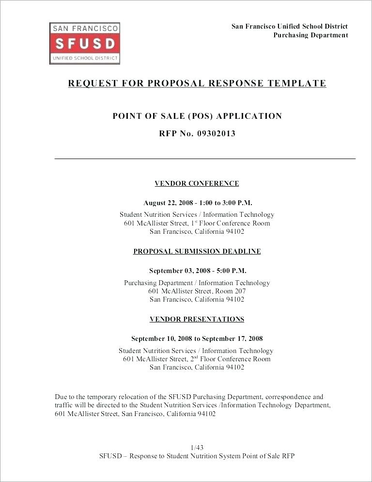 Banking Rfp Template