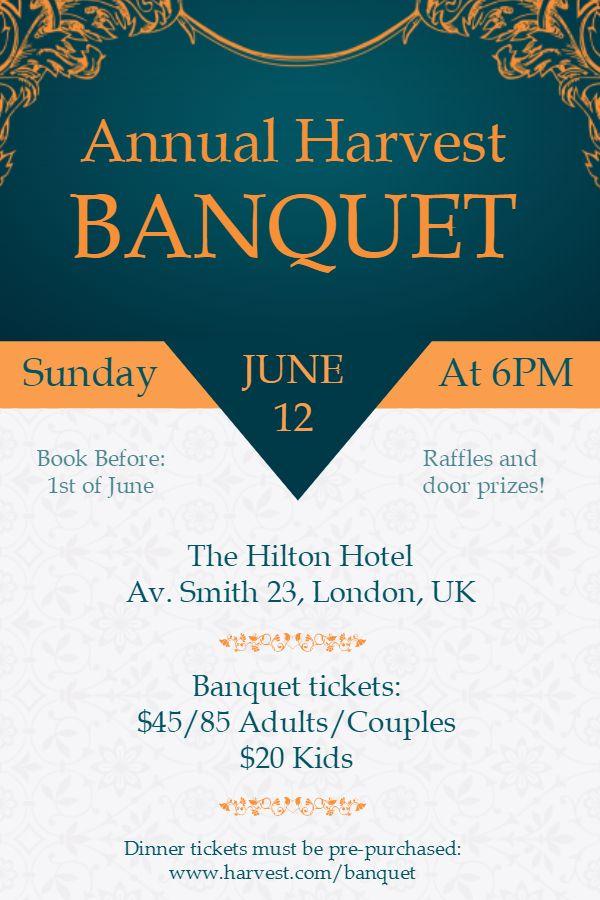 Banquet Invitation Template