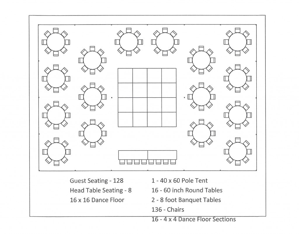 Banquet Seating Chart Template Free