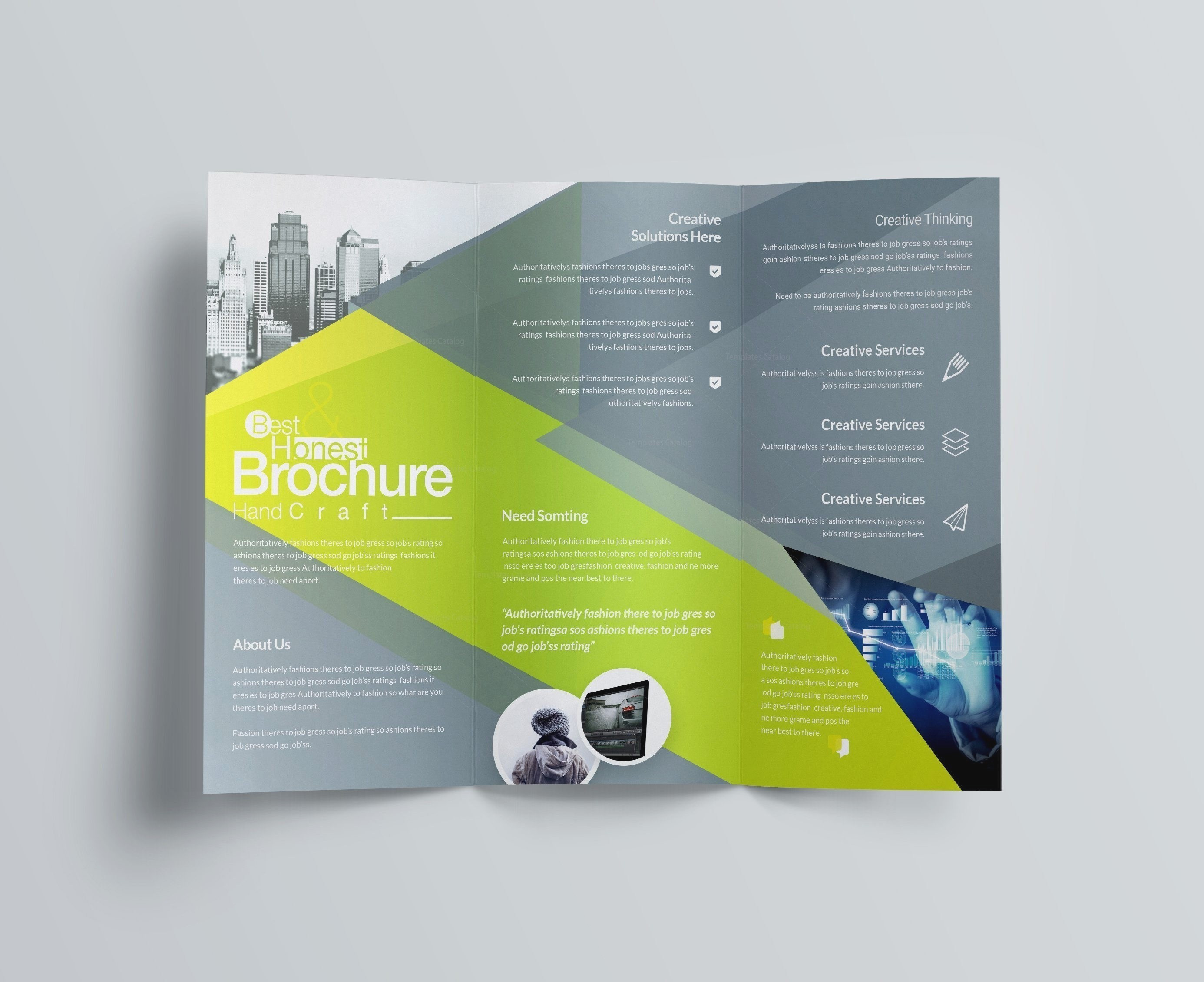 Beautiful Tri Fold Brochure Design Blank Brochure Templates Free Download Word Freddo Free Tri