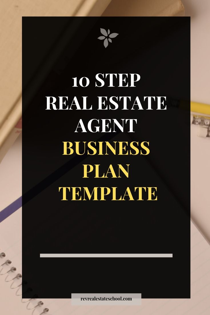 Business Plan For Real Estate Agents Template