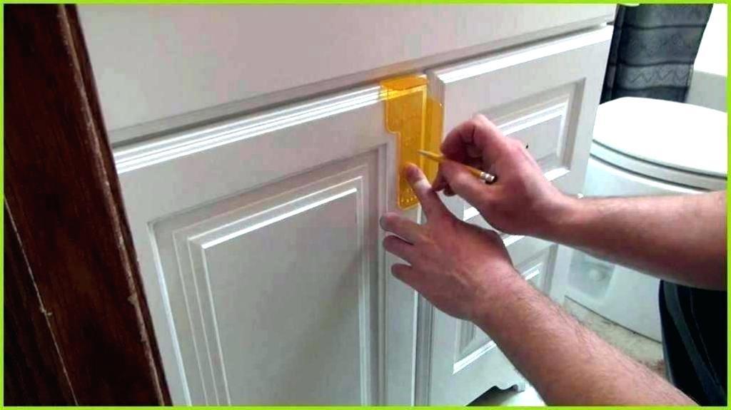 Cabinet Door Handle Template Lowes