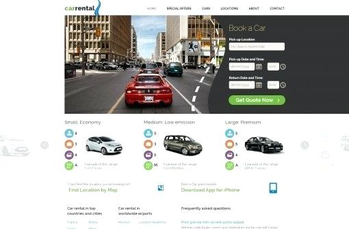 Carpooling Website Templates Free Download