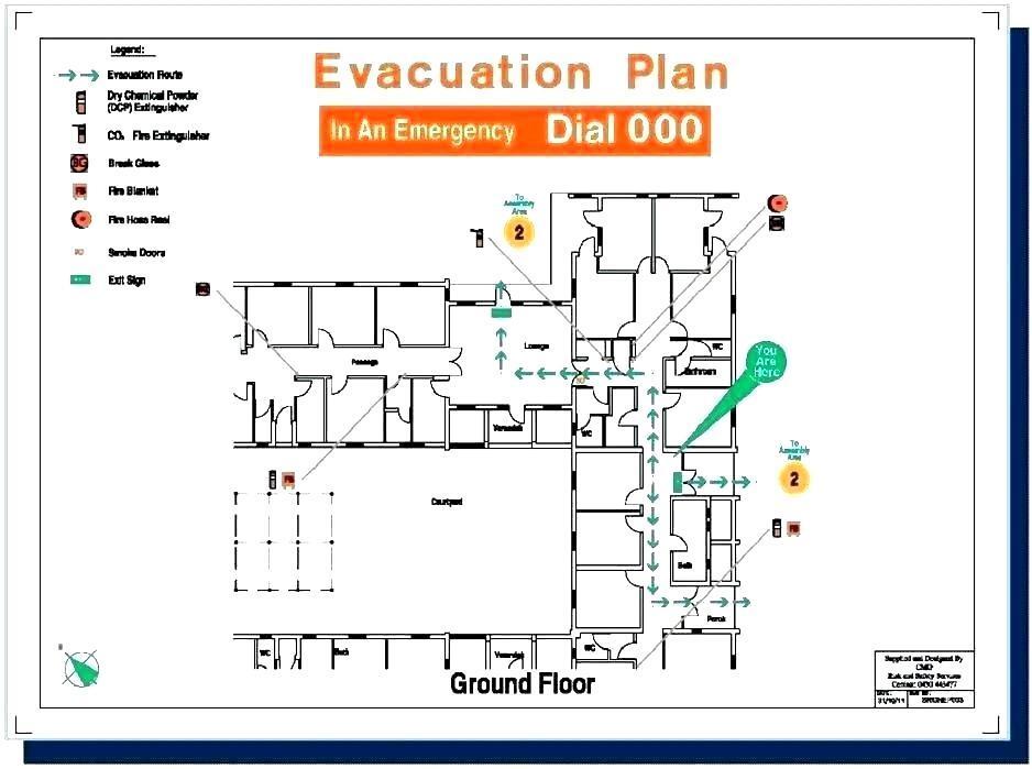 Church Evacuation Plan Template