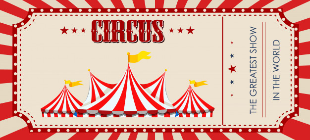 Circus Ticket Template Free
