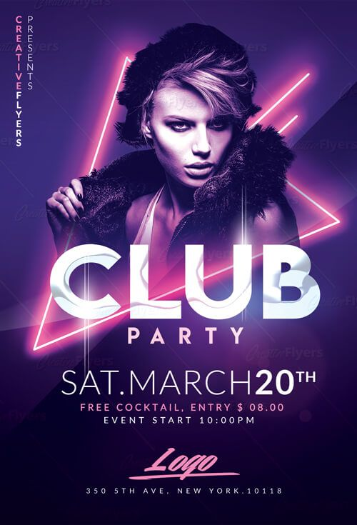 Club Flyer Templates Psd
