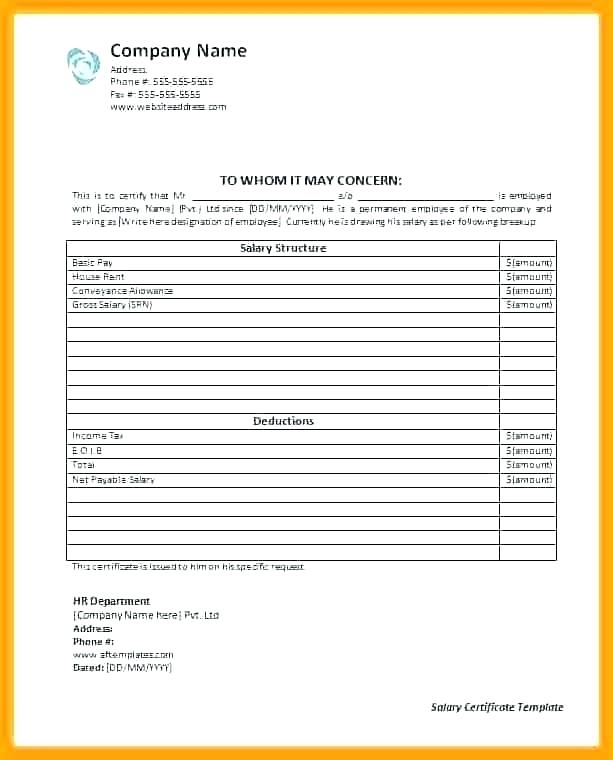 Commission Pay Structure Template