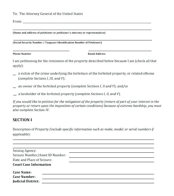 Community Petition Neighborhood Petition Template