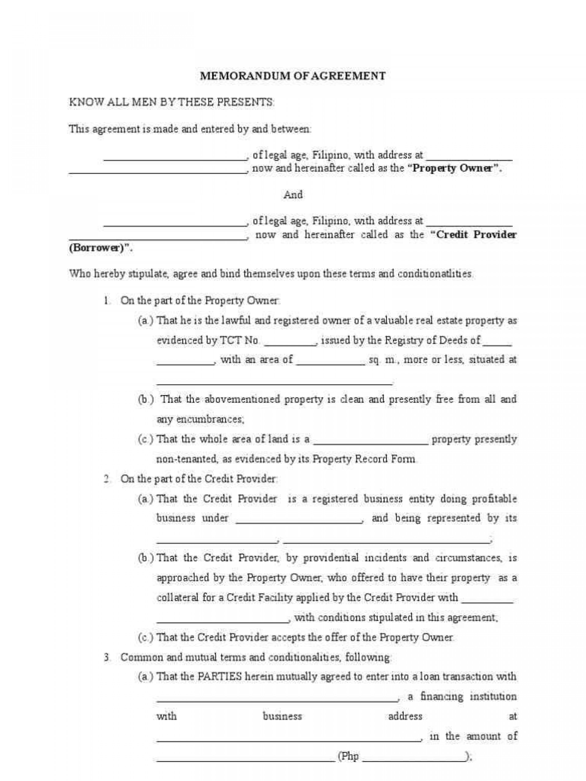 Contract Term Sheet Template Word