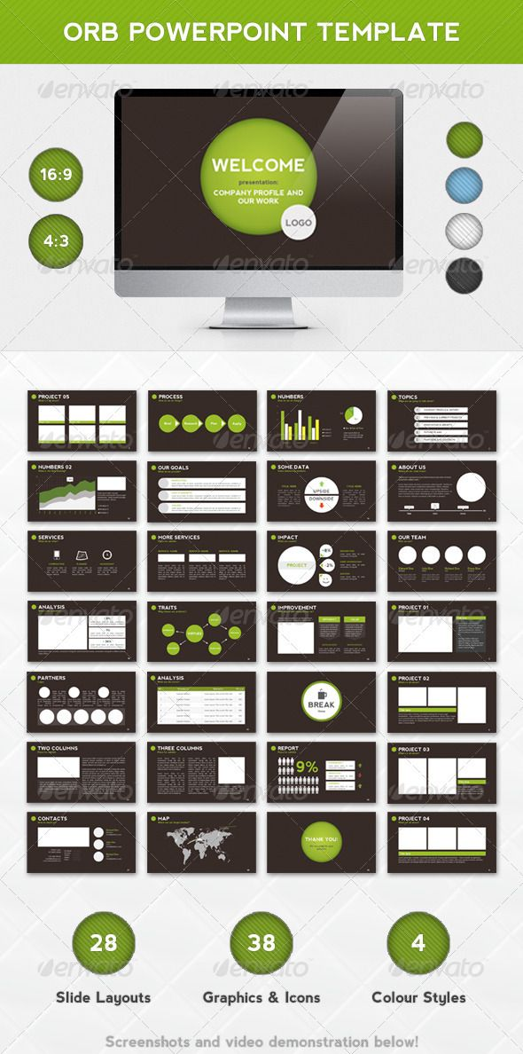 Cool Powerpoints Templates