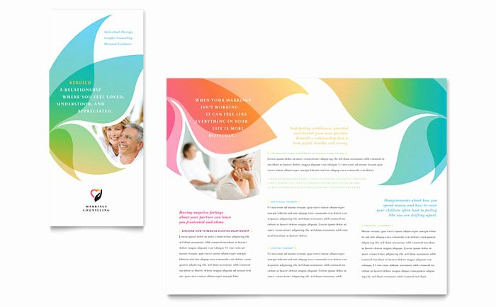 Counseling Brochure Templates Free