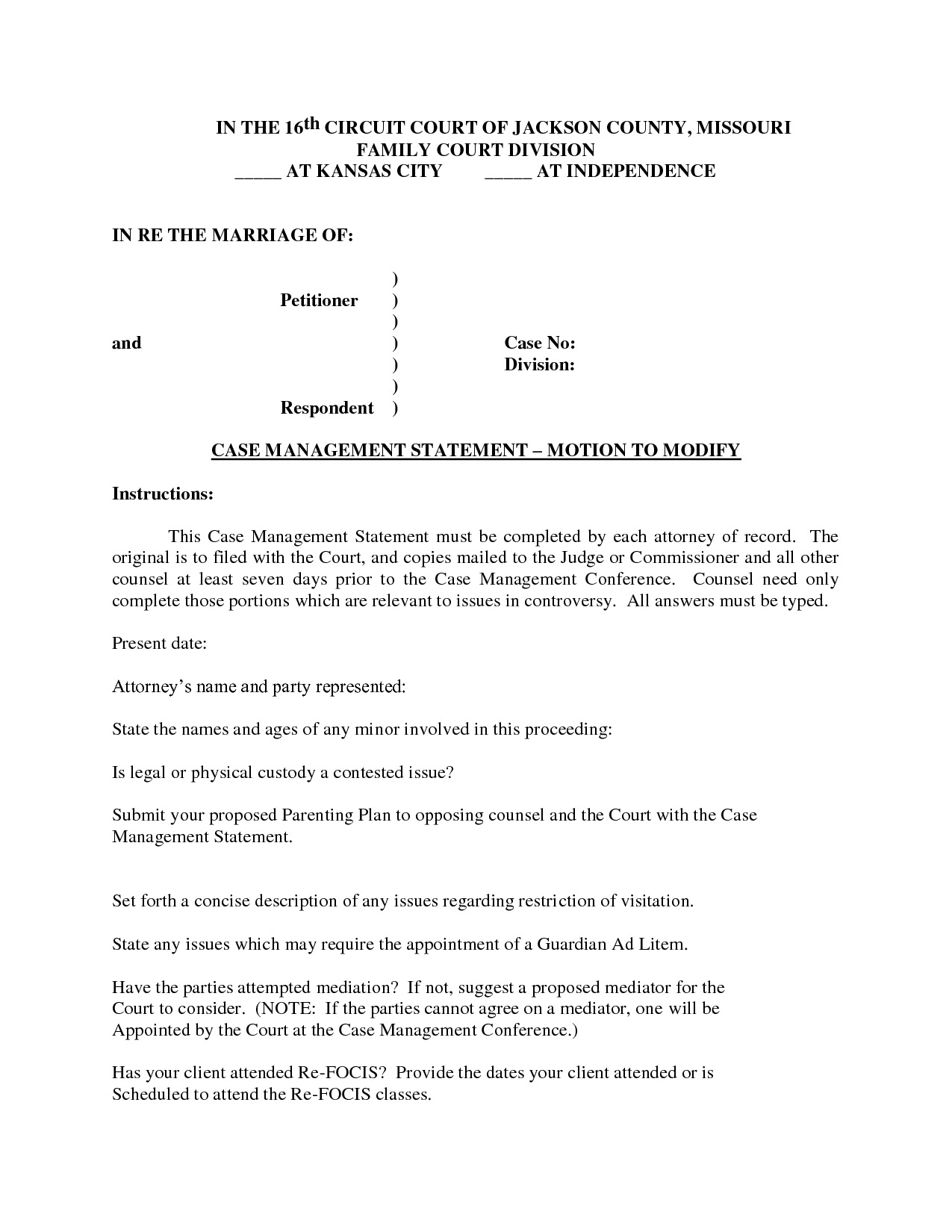 Court Document Template Ins.ssrenterprises.co With Regard To Legal Motion Template 2018