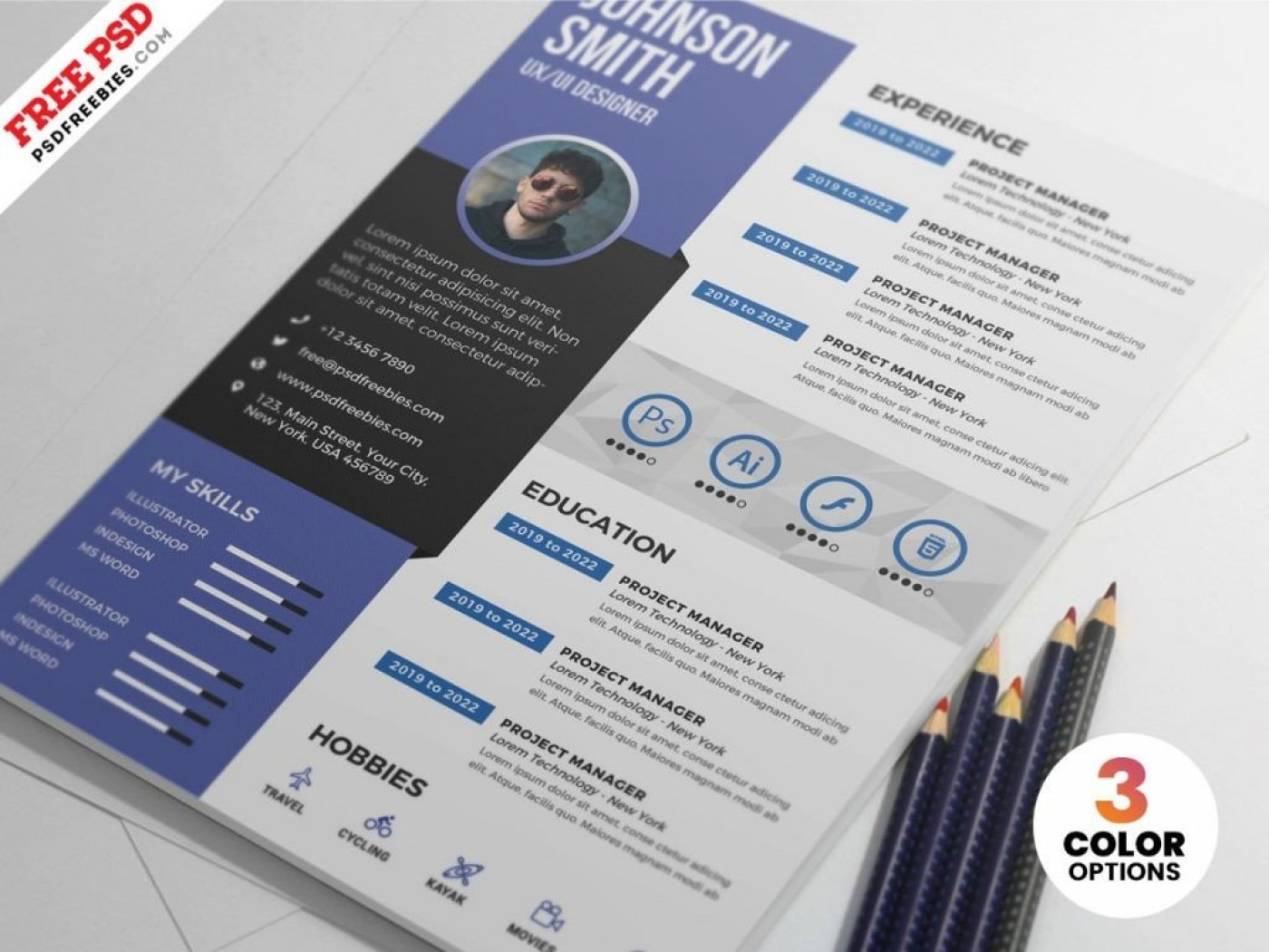 Creative Editable Cv Templates Free Download