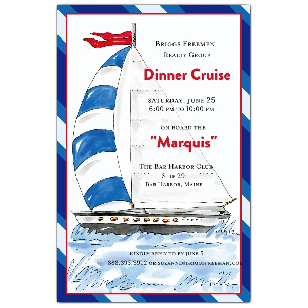 Cruise Party Invitation Template