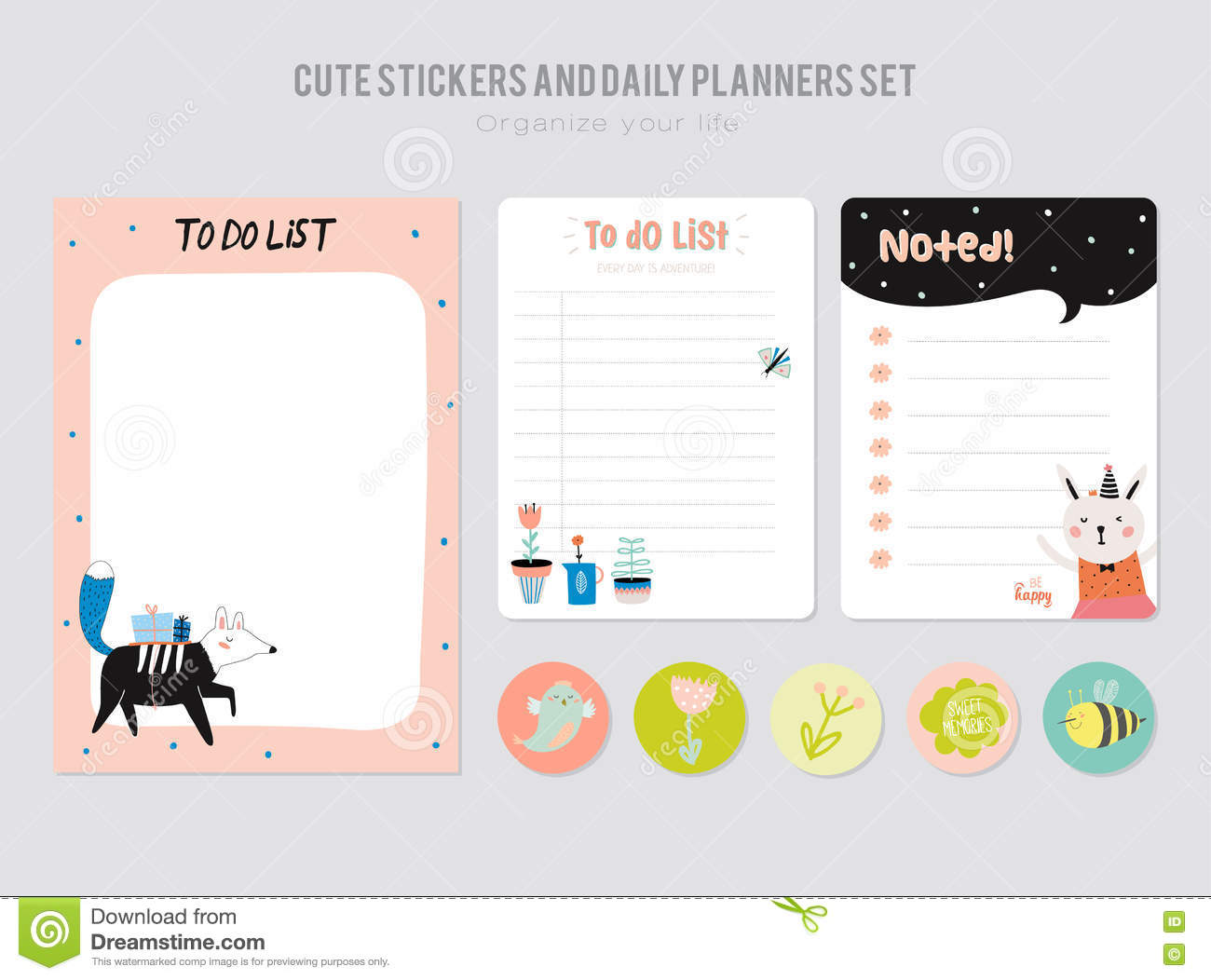 Cute Decorative Label Template