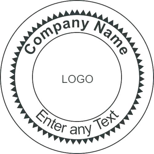 Digital Corporate Seal Template