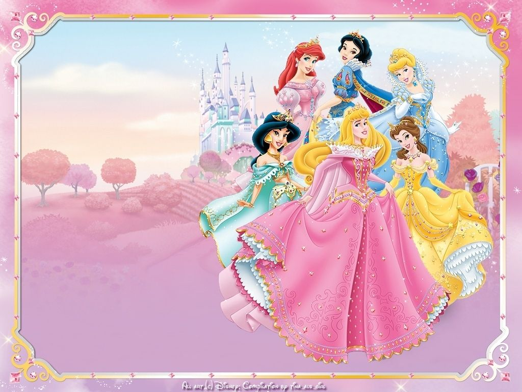 Disney Princess Invitations Templates