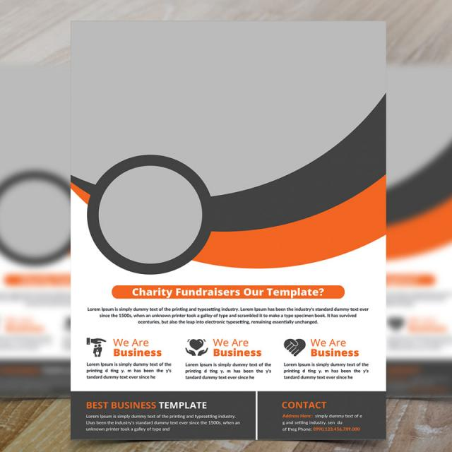 Donation Flyer Template Free Download