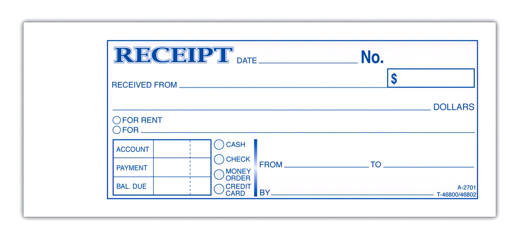 Downloadable Free Rent Receipt Template Word