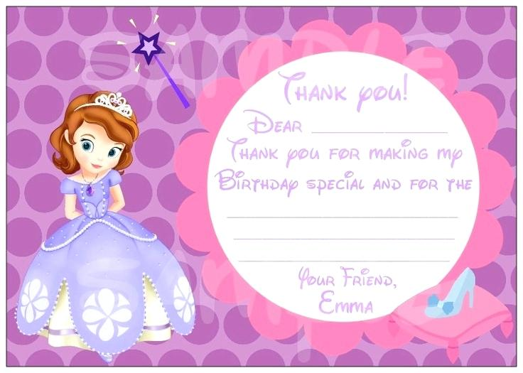 Downloadable Princess Invitation Template Free